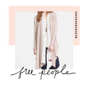 "Free People | ""In The Loop"" Open Front Cardigan"